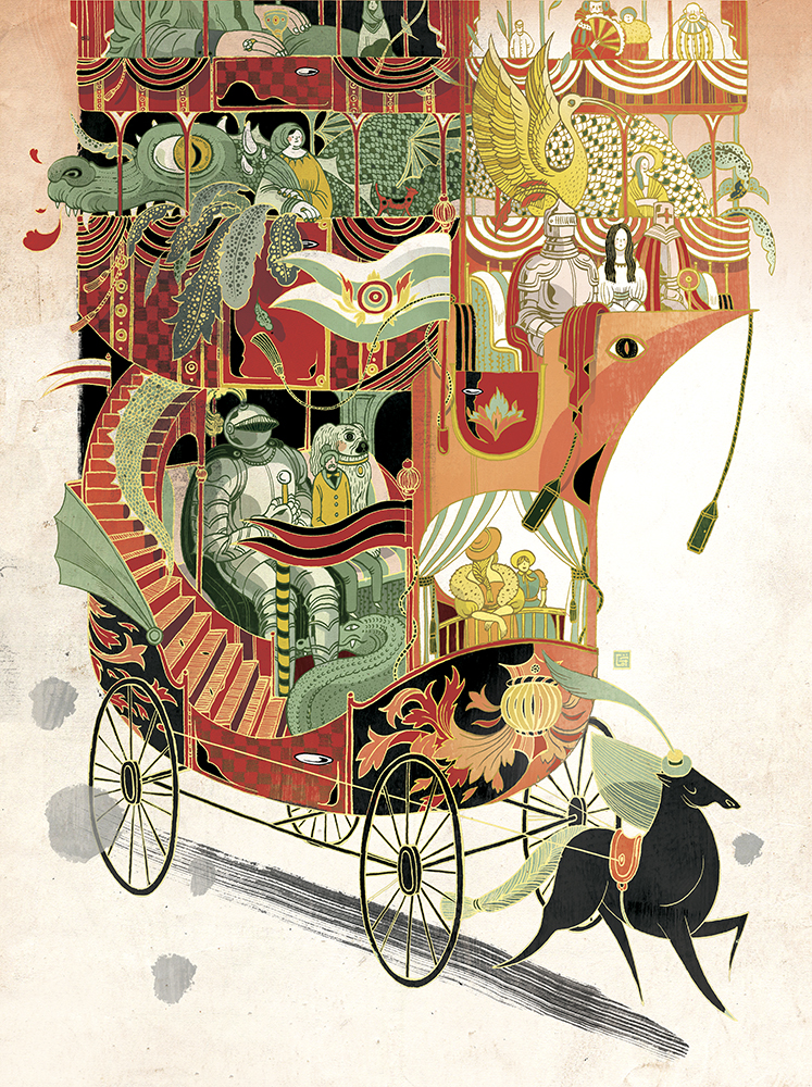 Above and Beyond - Victo Ngai