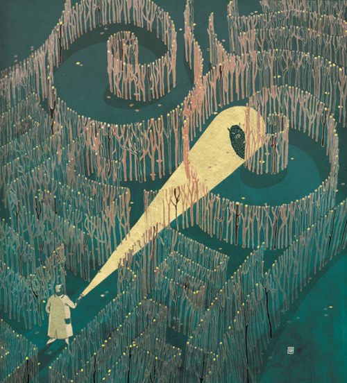 Victo Ngai -The Breast Labrynth