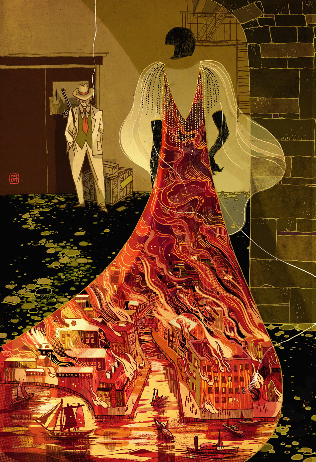 Victo Ngai - Jack and Queen