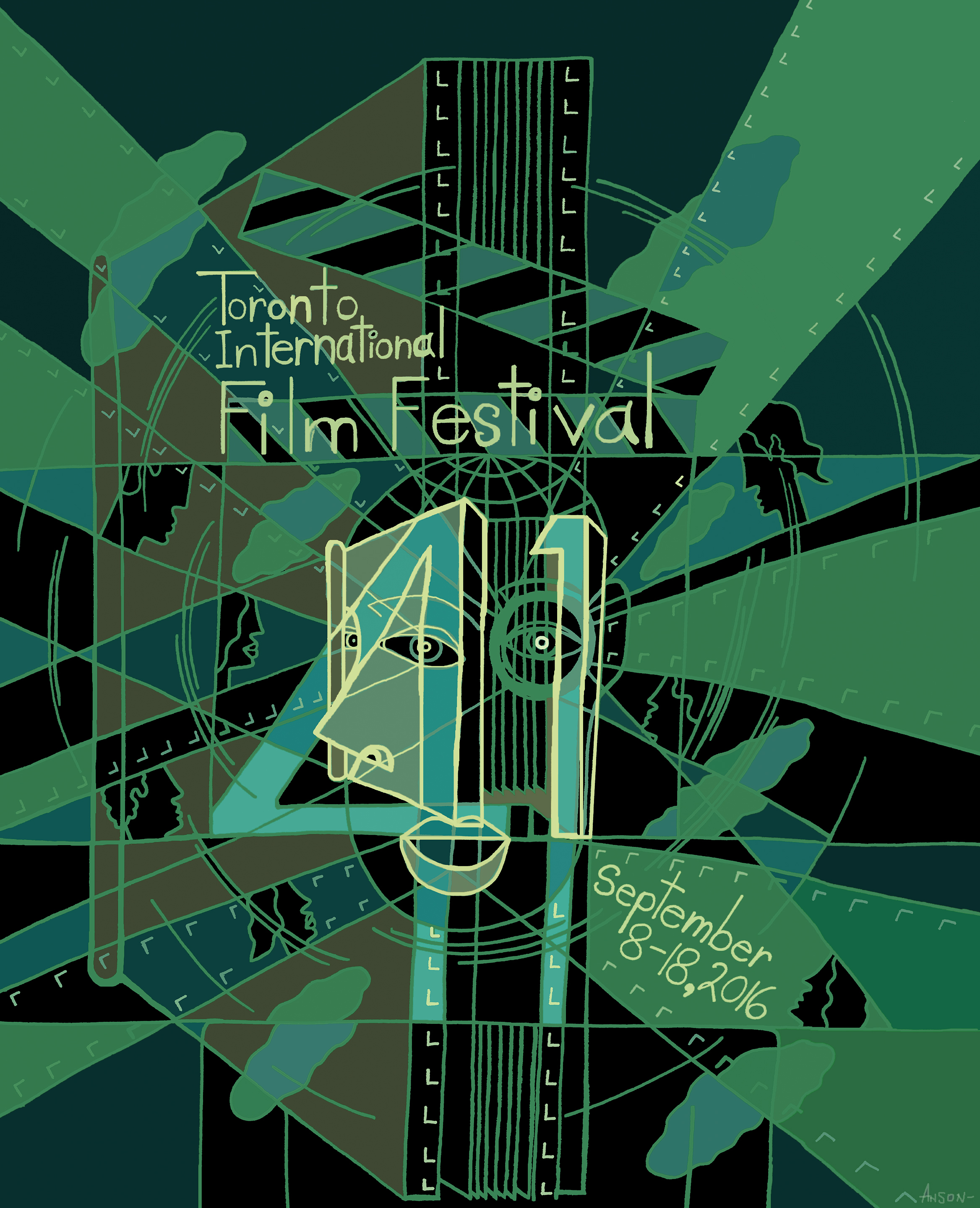 2016 annual 41st Toronto International Film Festival   poster version 2_Anson Liaw