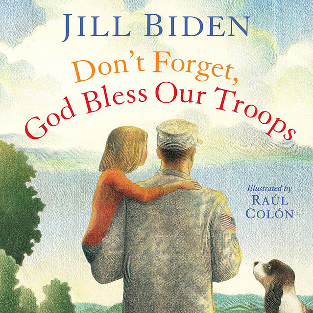 "Cover, ""Don't Forget, God Bless Our Troops"""